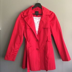 💚2 for $30💚Express Red Trench Coat